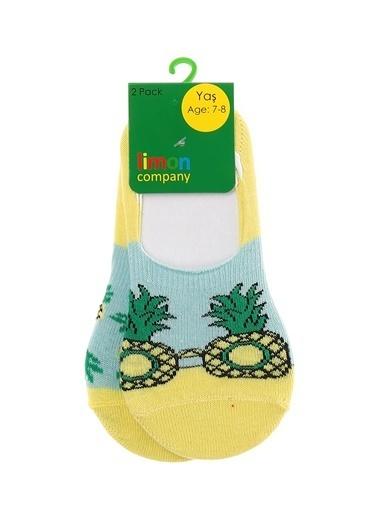 Limon Company Spor Çorap Sarı